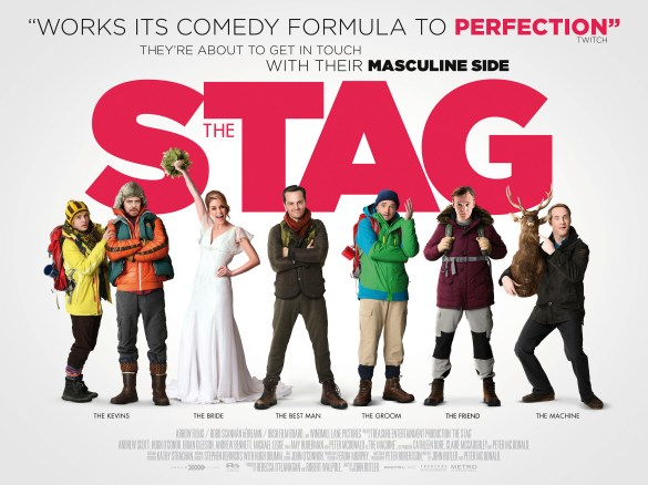 The Stag Quad Poster 585x438 Exclusive Poster & Release Date and New Trailer for John Butler's The Stag with Andrew Scott
