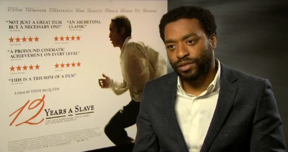 12 years a slave Chiwetel Ejiofor 585x309 Interview: Chiwetel Ejiofor talks 12 Years a Slave