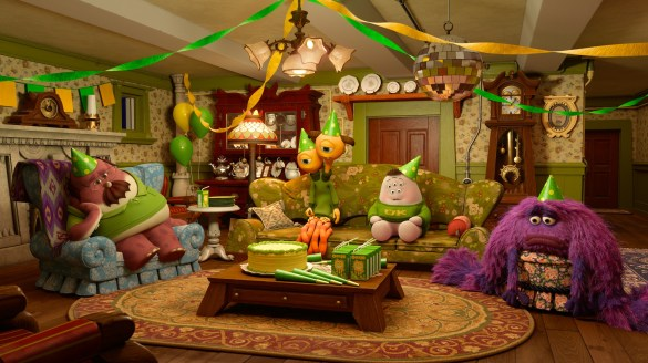 Pixar Party Central 585x328 Pixar reveal the first image for new short film Party Central