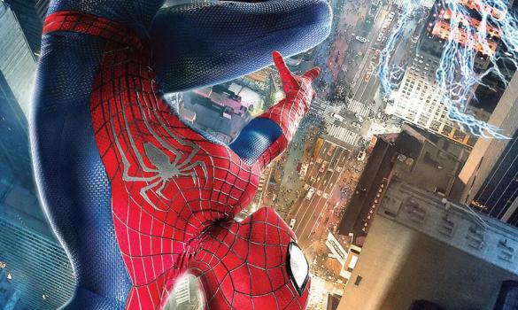 The Amazing Spider Man 2 Poster 585x350 The Amazing Spider Man 2 Swings in with 3 New Posters