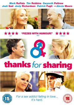 thanks for sharing 461x650 Win Thanks For Sharing on DVD