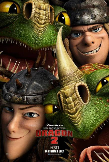 The Final Character Poster for How to Train Your Dragon 2 reveals Jonah Hill as Snotlout