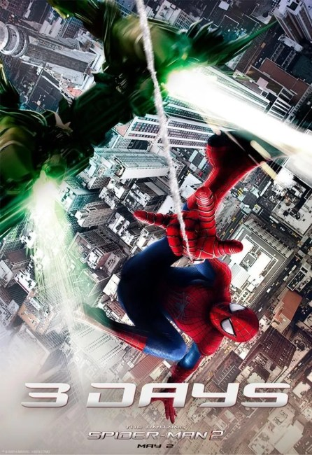 Green Goblin 446x650 The Green Goblin and The Rhino Revealed in New Stills from The Amazing Spider Man 2
