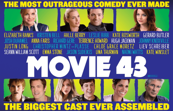 Movie 43 585x376 The Razzies 2014   Winners (Losers?) List
