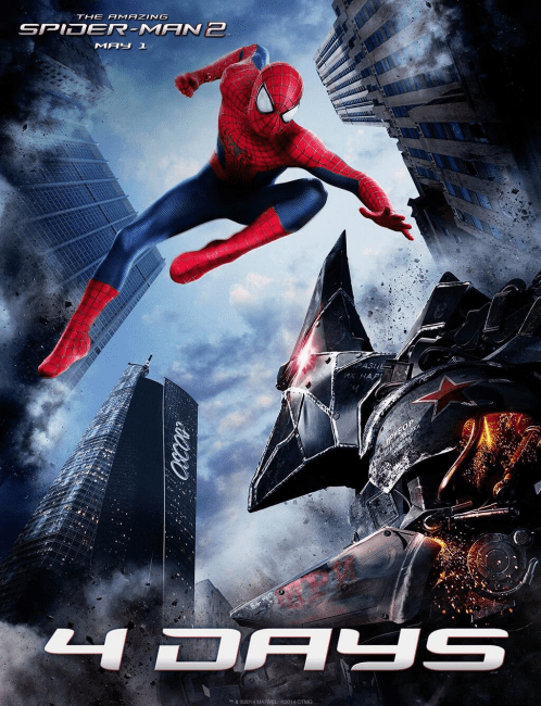 Spider Man Rhino 498x650 New Image of The Rhino Ahead of the Final Trailer for The Amazing Spider Man 2