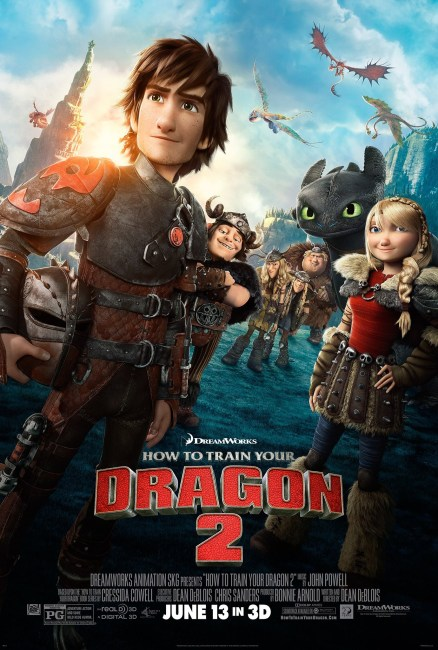 How to Train Your Dragon 2 Poster 438x650 New Trailer and Poster for DreamWorks' How to Train Your Dragon 2