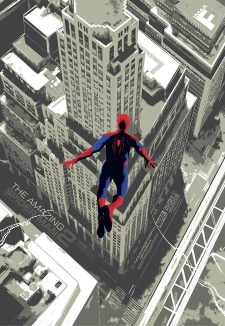 IMAX Spider Man 450x650 The Amazing Spider Man 2 Gets IMAX Poster, New Release Date and TV Spots