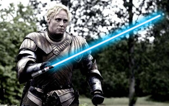 GOT sw 585x365 More Star Wars Episode VII Cast Announced   Lupita Nyongo and Gwendoline Christie