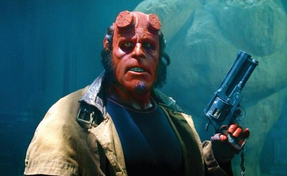 Hellboy 585x358 Ron Perlman Says he will Never Stop Trying to Make Hellboy 3 a Reality