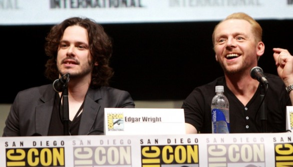 Simon Edgar 585x334 Simon Pegg Shares his Thoughts on Edgar Wright and Ant Man; Says its Marvels Loss