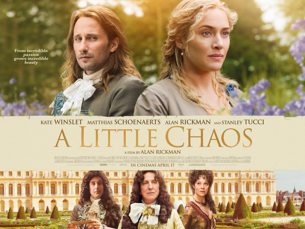 Matthias Schoenaerts & Kate Winslet in A Little Chaos