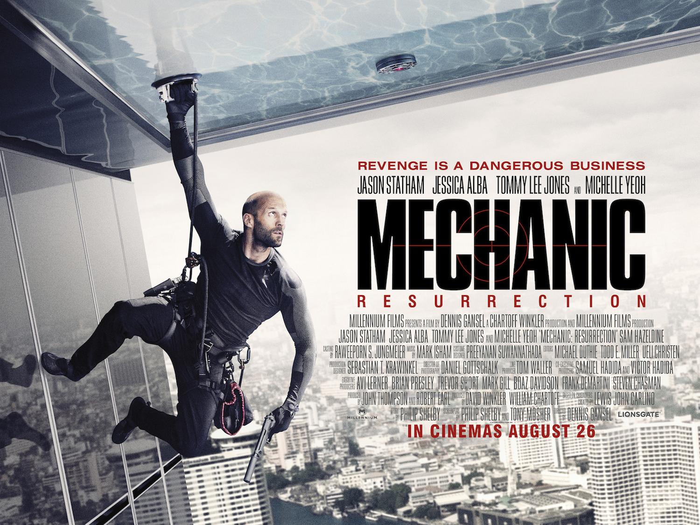 new trailer for jason stathams mechanic 2 resurrection
