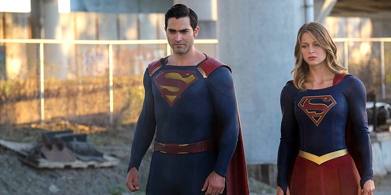 Watch Superman finally make an appearance in this new Supergirl clip