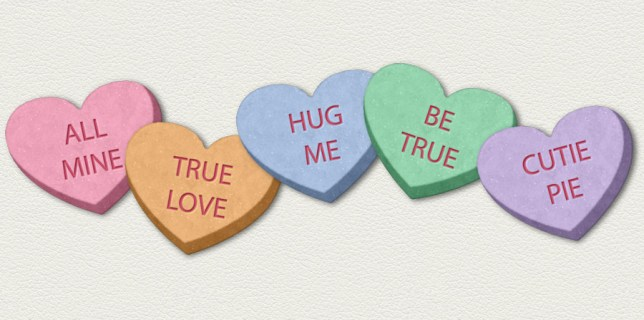 Free download ~ png Valentine candy hearts ~ courtesy of hgdesigns.co