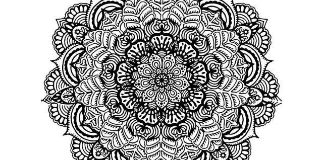 Free download ~ hand drawn mandala in png format #mandala ~ courtesy of hgdesigns.co