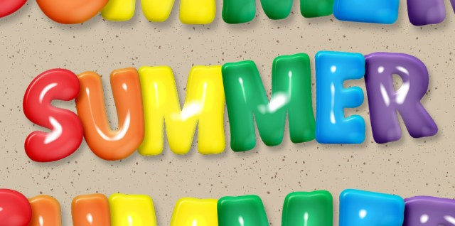 Free download ~ commercial use 'summer' word art for designers and digital scrapbooking in transparent png format