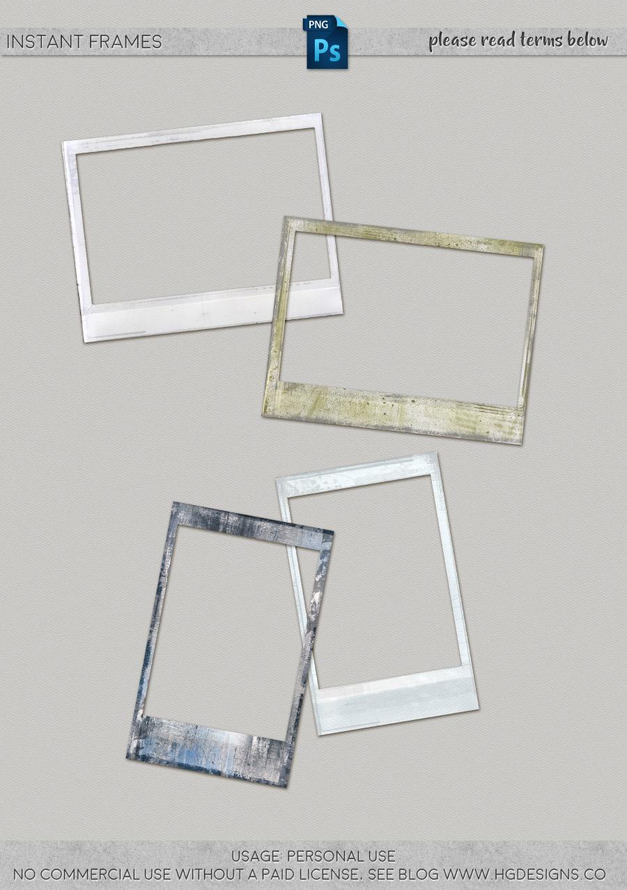 freebie: instant frames