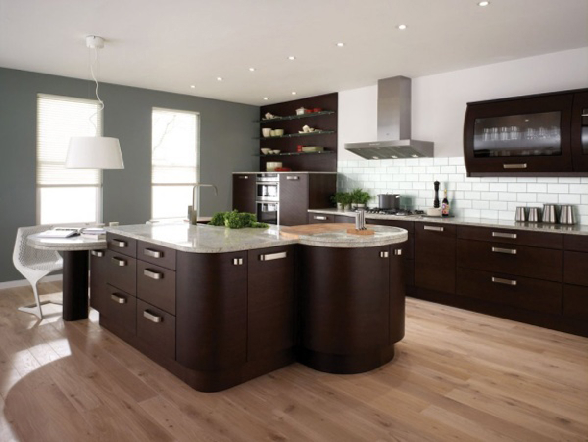 20 impressive kitchen flooring options for your kitchen floors kitchen flooring VIEW IN GALLERY Kitchen Flooring Options with Wooden Kitchen Design Ideas
