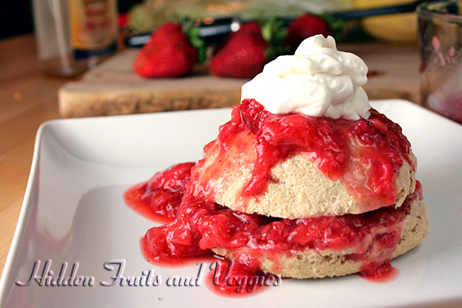 Low Fat Strawberry Shortcake