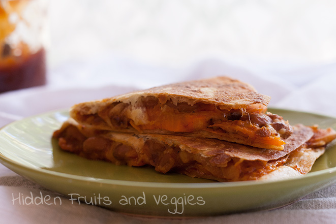 BBQ Sweet Potato Quesadilla #spon