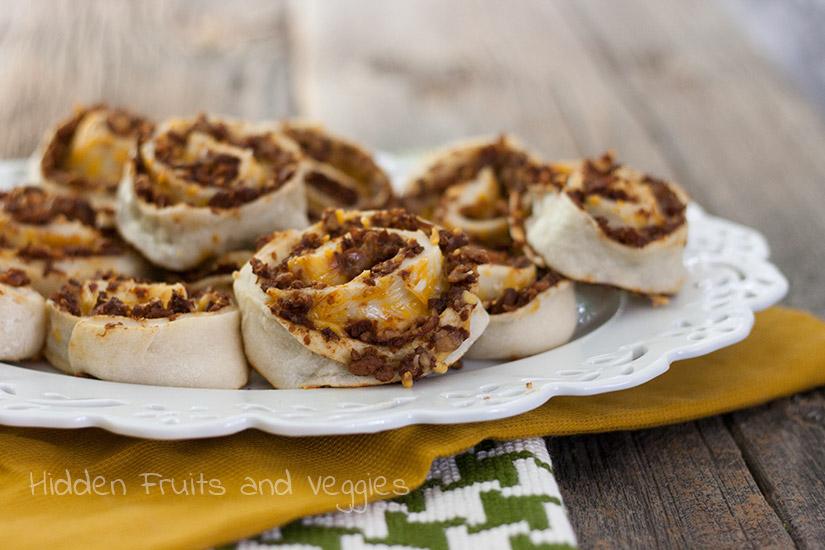 #BeyondMeat Taco Pinwheels