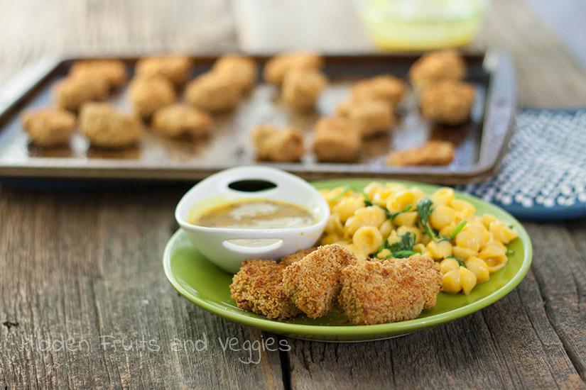 Tempeh Chicken Nuggets