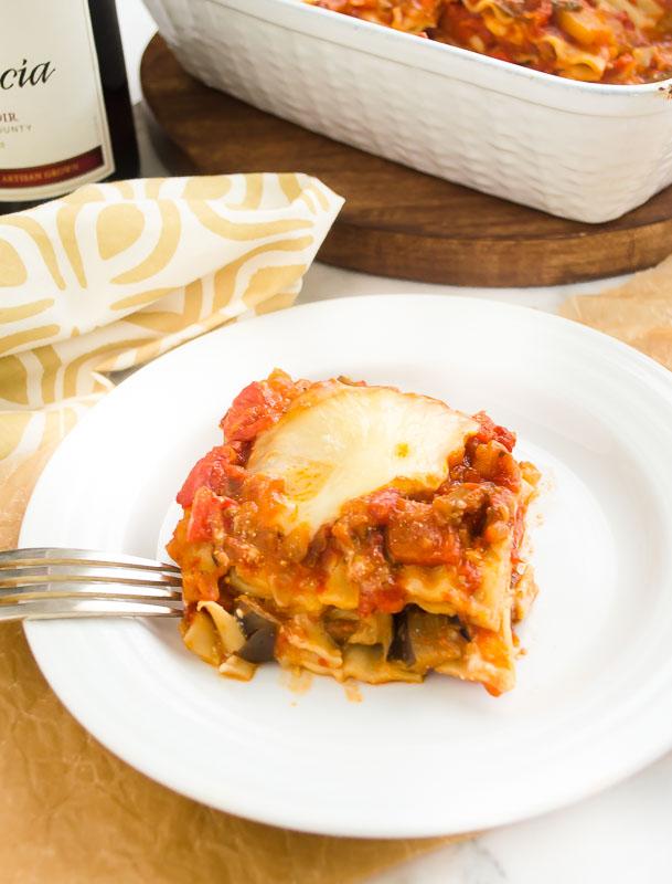 vegetarian lasagna with eggplant ragu3 | flavorthemoments.com