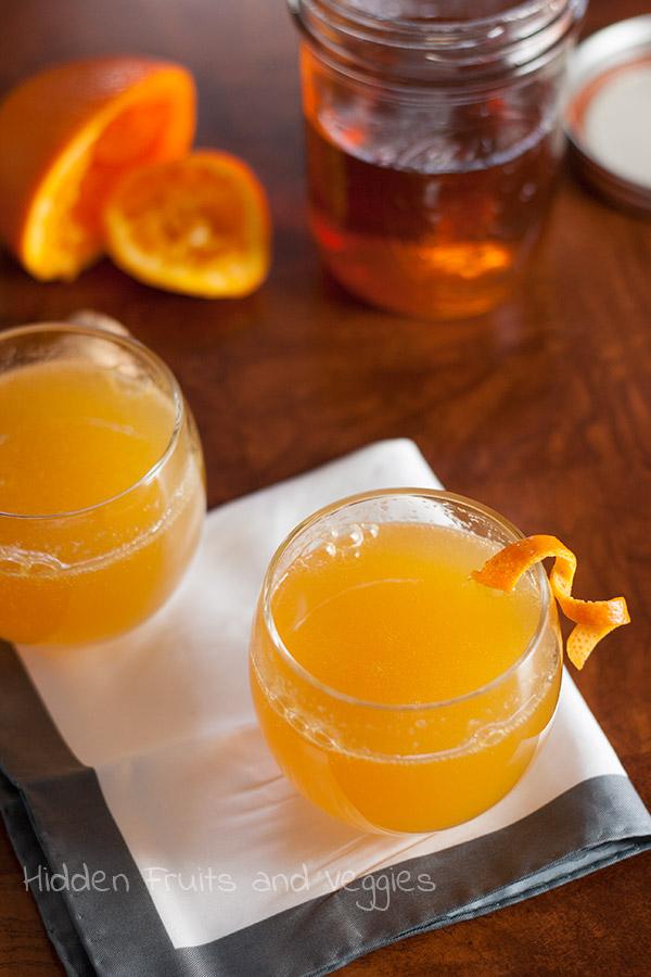 Cinnamon Orange Fashioned @hiddenfruitnveg