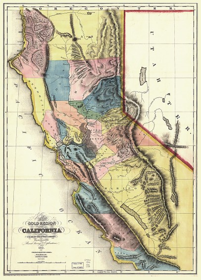 Gold Region of CALIFORNIA