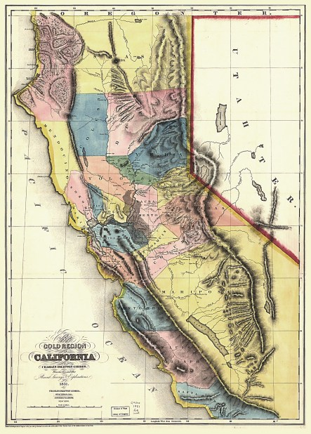 Gold Region of CALIFORNIA