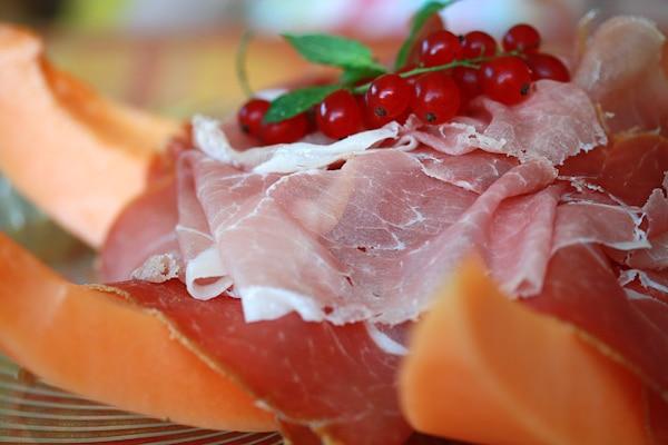 Melone mit Pancetta
