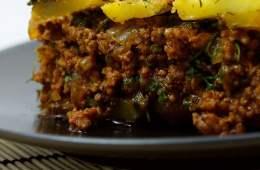 Mubattan Kusha: Hackfleisch mit Kartoffel-Gratin
