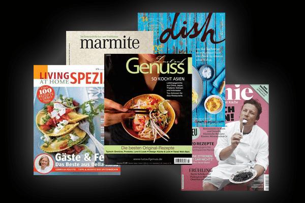 Meine Top 5 der Food-Magazine [Update]