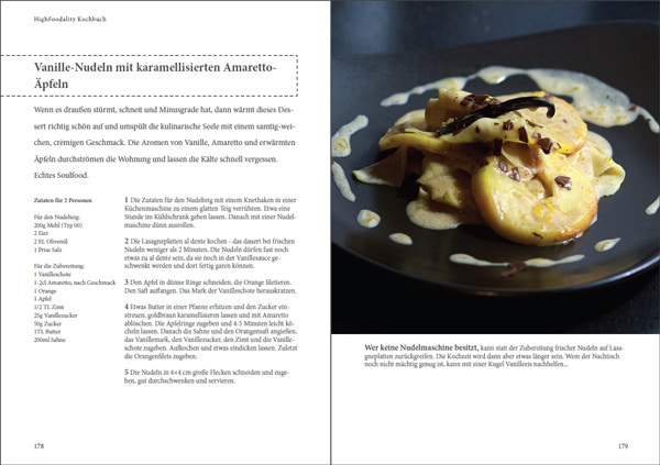 HighFoodality Kochbuch Preview