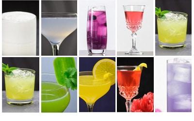 Cookbook of Colors 12 Farben 12 Cocktails