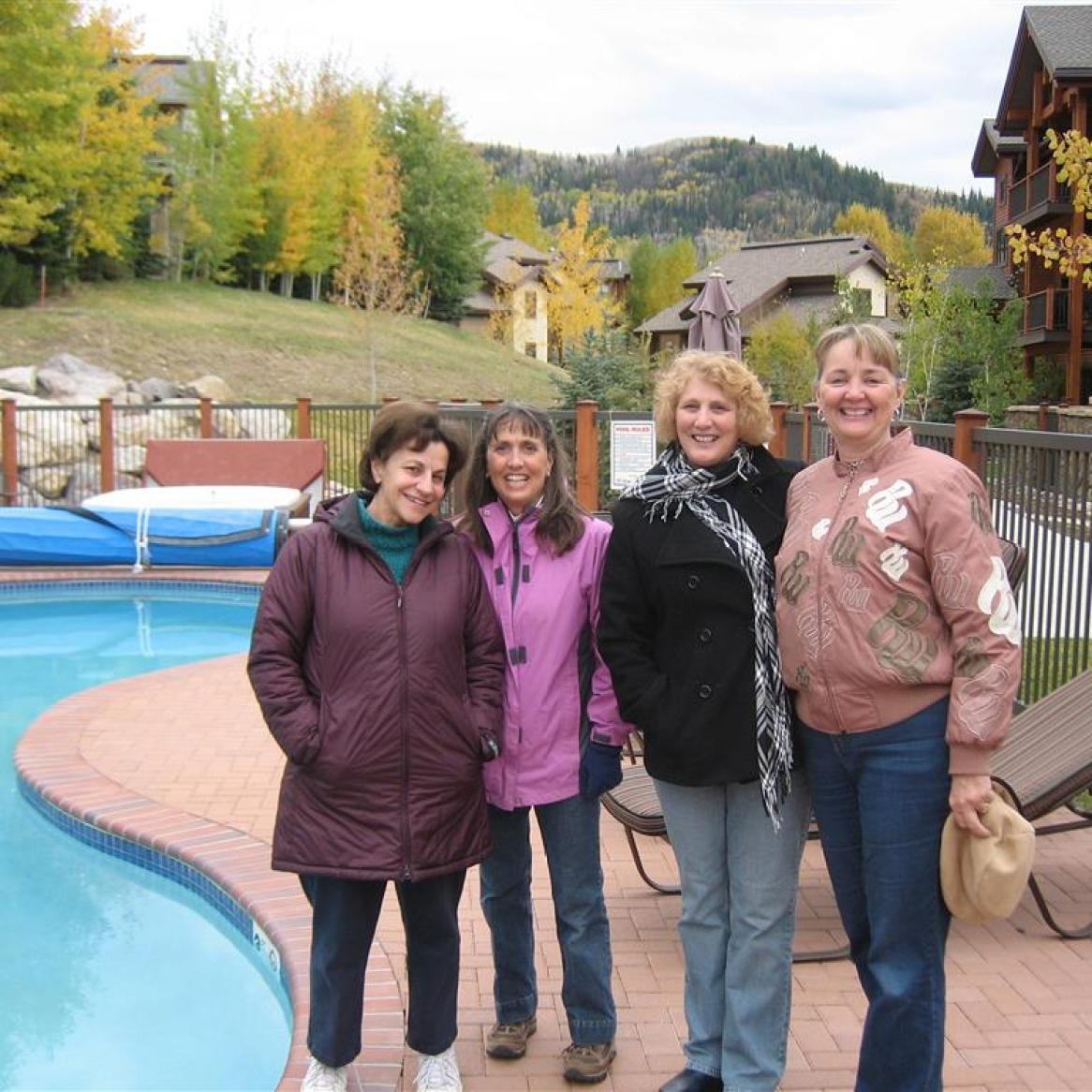 Nora, Martha, Sheryl, Judy