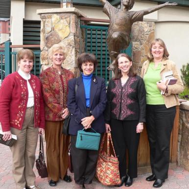 Lynne, Sheryl, Nora, Diane, Judy