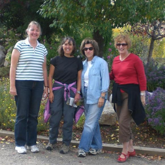 Judy, Martha, Nora, Sheryl