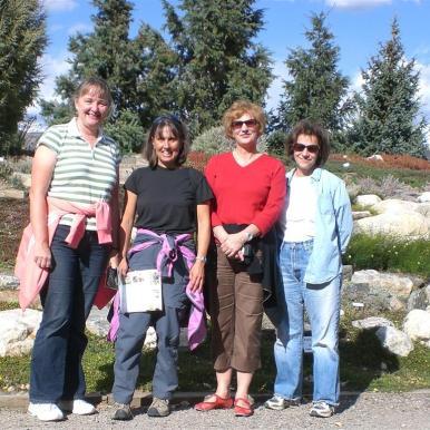 Judy, Martha, Sheryl, Nora