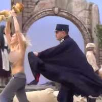 NSFW. FEMEN Exposed, Going Topless To Snatch the Baby Jesus...