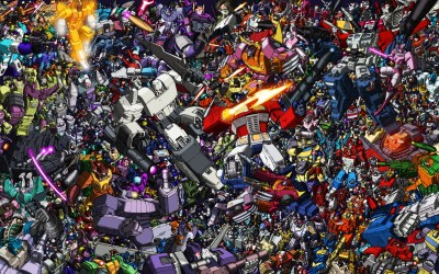HD Collage of Transformers Desktop Background - HD Wallpapers