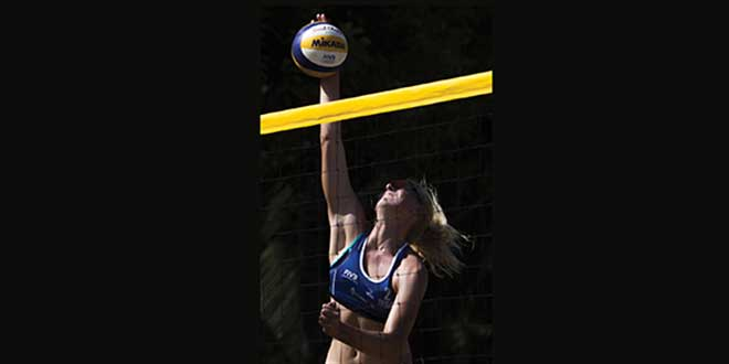 DIG IT! Kathryn Plummer — Confident, Competitive and a Flair for Fun