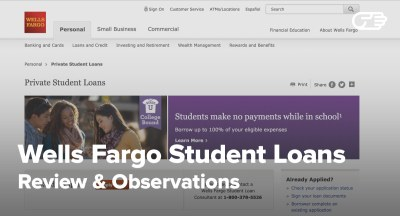 Wells Fargo Private Student Loans Reviews - Pros and Cons
