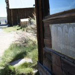 Storefront in the ghost town of Bodie State Historic Park