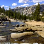 The shores of the Tuolumne River make a great spot for lunch on day one.