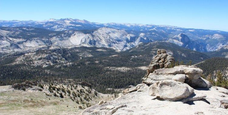 Mt. Hoffman's views - 360 degrees of Yosemite