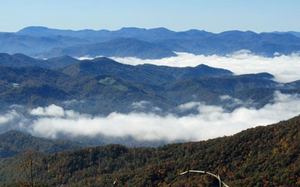 From the MST off Waterrock Knob