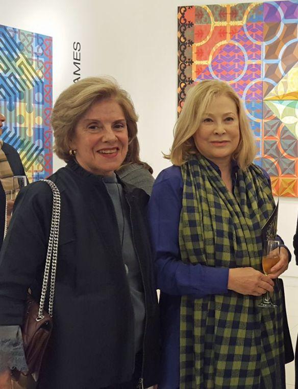 fotos vernissage Lucia Flecha de Lima- Thera Regouin- Bernadete Braga-Rosa Cordeiro GUerra-BiaMartinsCosta
