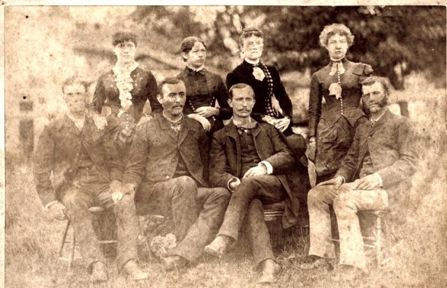 William L Hill Family