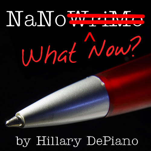 Free copies of NaNo What Now for Camp NaNoWriMo participants (winners or not)